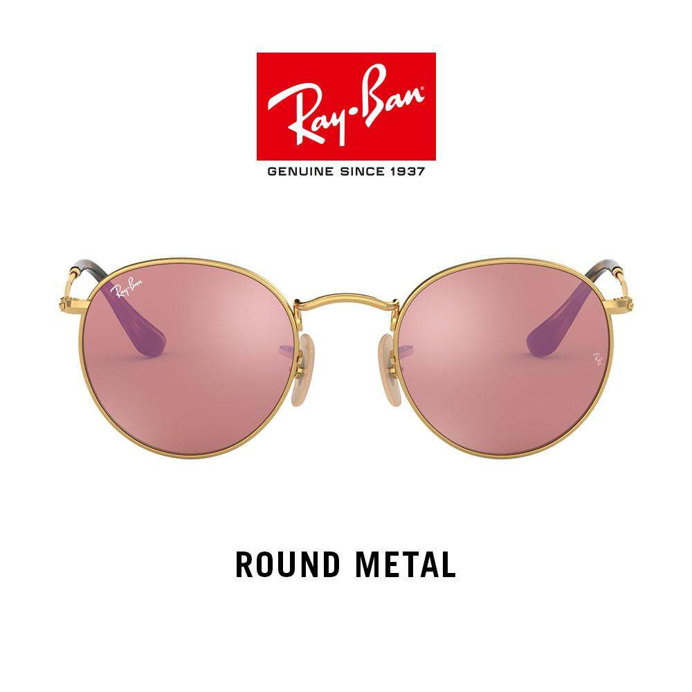 8035d2113bf Ray-Ban Round Metal - RB3447N 001 Z2 - Sunglasses