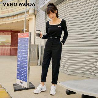 Vero Moda Quần Dáng Thon Phong Cách Ins Cho Nữ 32046J003 thumbnail