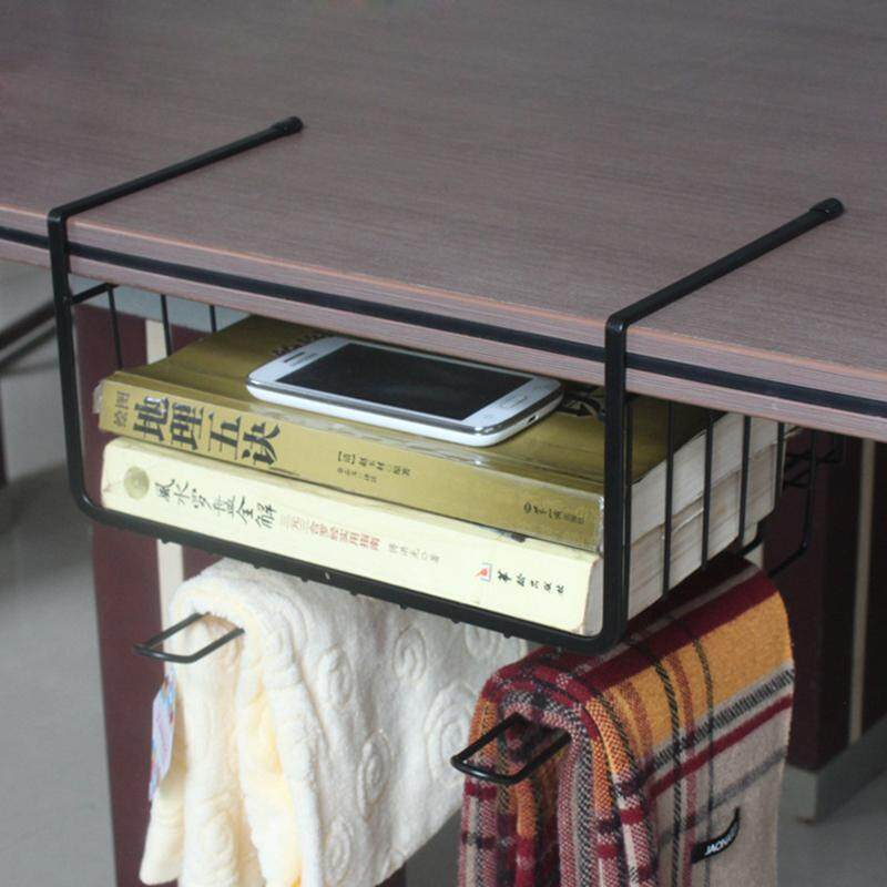 Multi-Function Shelf Storage Space Under Shelf Library Shelving Cart To Cupboard Kitchen Hot Sale Desktop Storage Office Storage