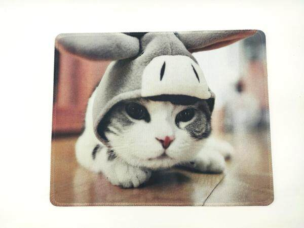 【Ready Stock】 High Quality - Hemming Seam 2mm Anti-Slip Mouse Pad / Mousepad with Cute Colorful Pattern 缝边 可爱 创意 造型 舒适 防滑 滑鼠垫 Malaysia