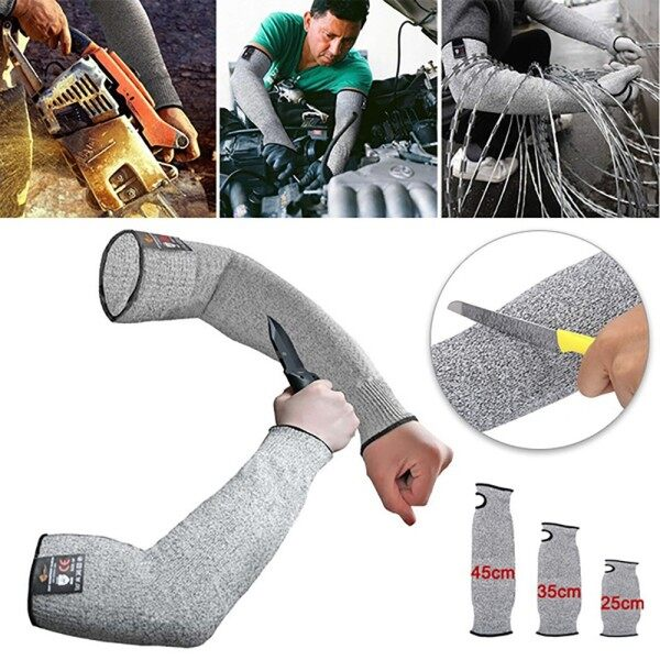 ♥Original Product+FREE Shipping♥ Safety Anti Heat Cut Resistant Sleeves Arm Guard Protector Gloves