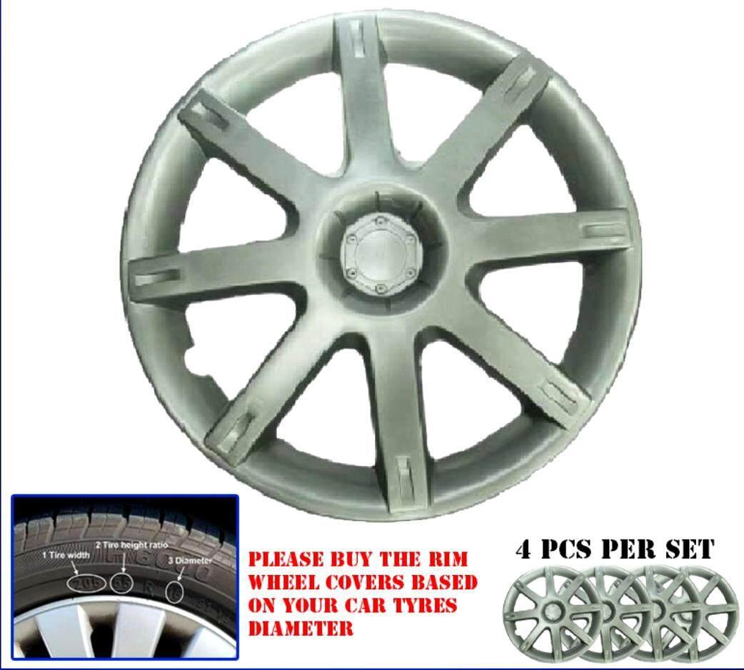 "PROMO !!! PREMIUM QUALITY 4 pieces Proton Saga 2 14 Inch ( 14 "" ) ABS Wheel Cover Rim Center Hub Caps (MADE IN MALAYSIA)"