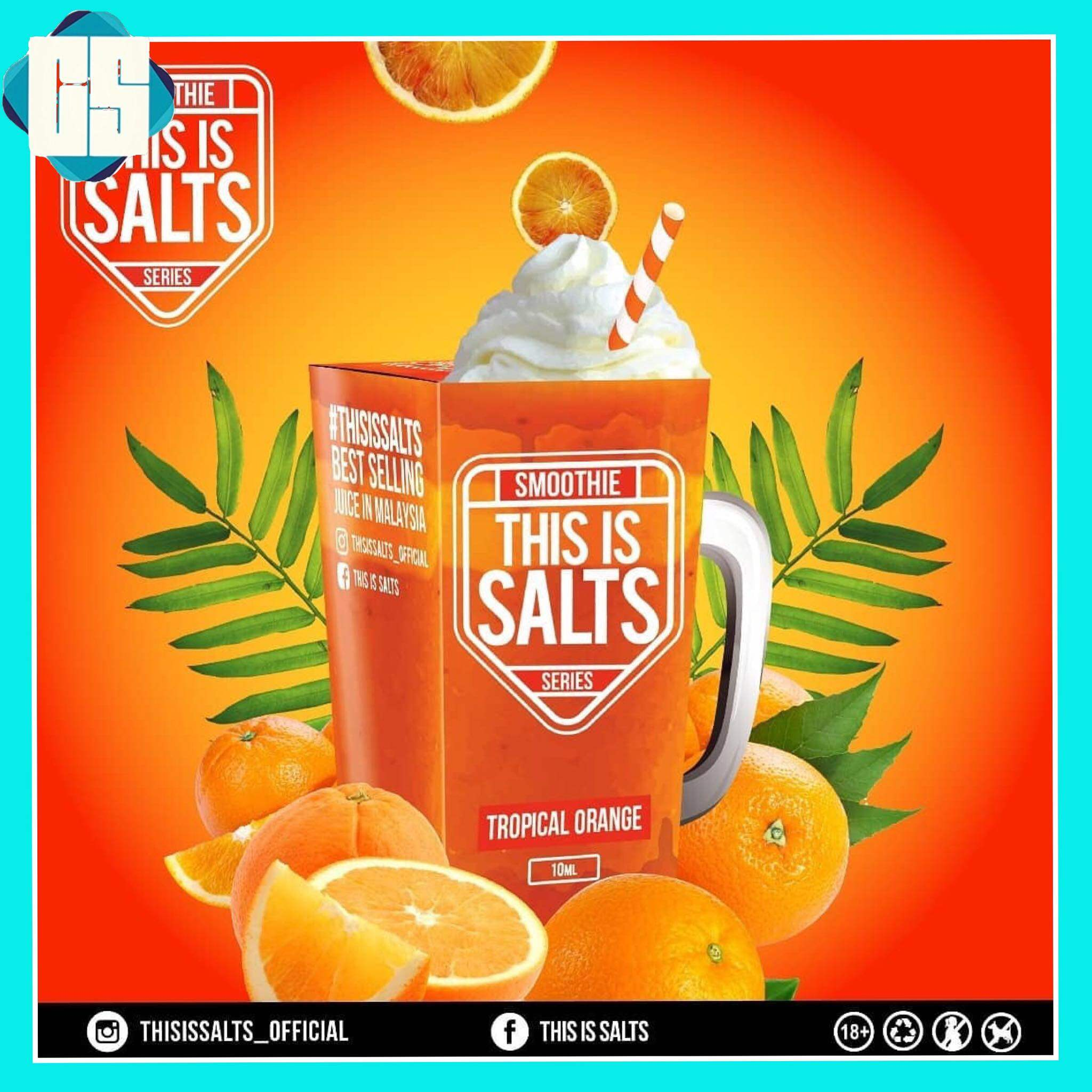 This Is Salt Smoothie Series 10ml Ejuice For Pod Mod System Malaysia
