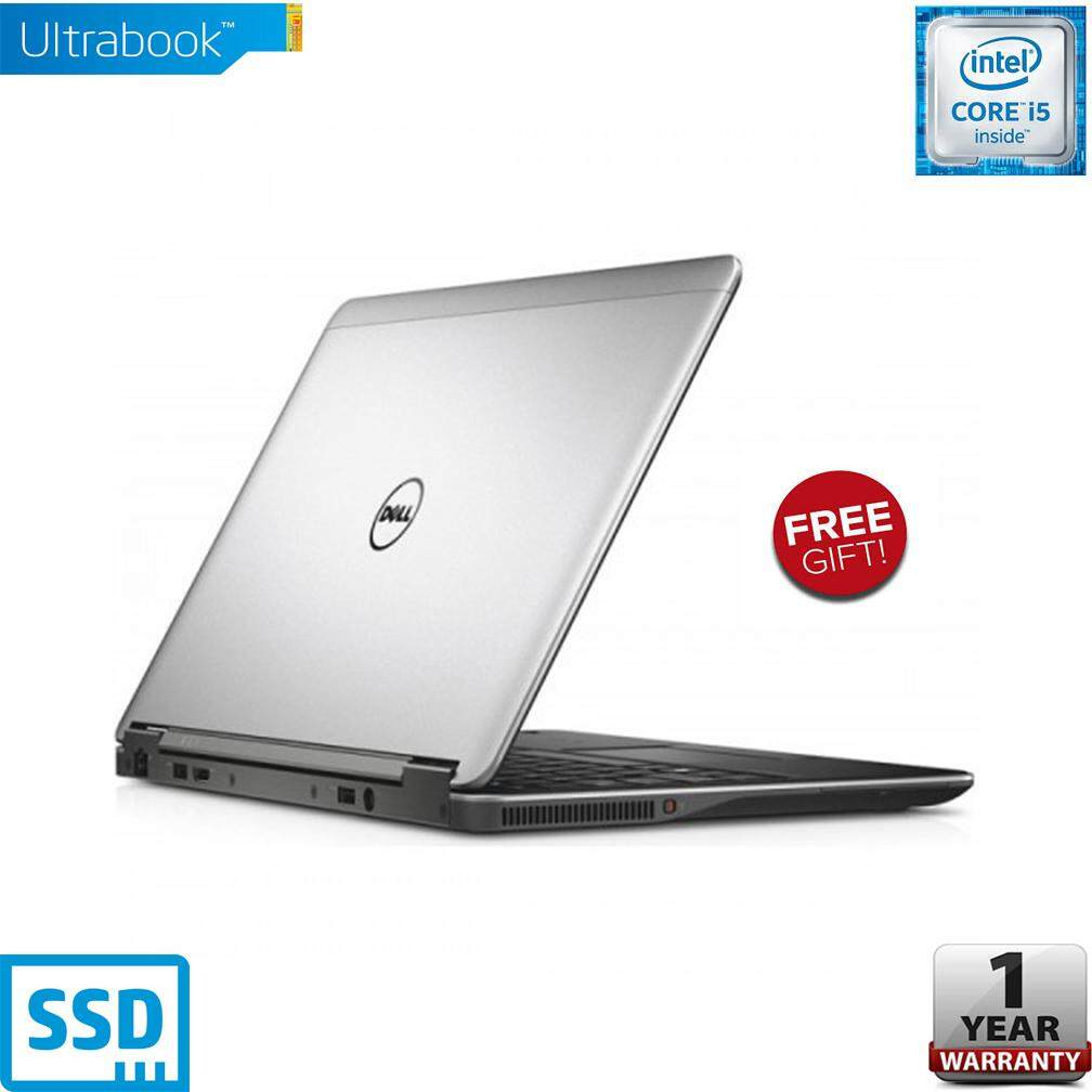 DELL LATITUDE E7240 12.5 INCH [CORE i5 / 4GB RAM / 128GB SSD STORAGE / 1 YEAR WARRANTY] Malaysia