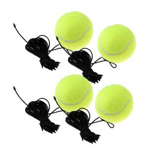 Bóng Tennis Baosity Với Chuỗi Thay Thế Quần Vợt Phục Hồi Thực Hành Huấn Luyện Viên Bóng 4 Cái thumbnail