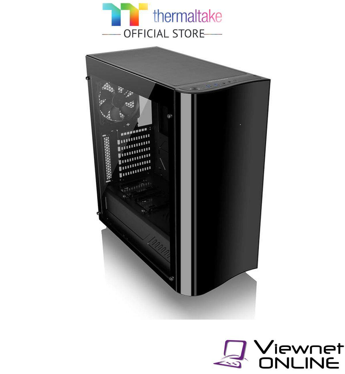 Thermaltake View 22 Tempered Glass Edition Mid-Tower Chassis (CA1J300M1WN00) Malaysia