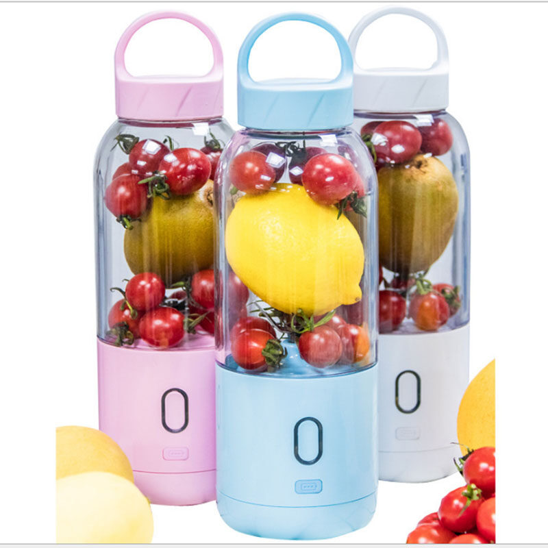 【Free Shipping】Six Leaf 7.4v Dual Bat*tery High Power USB Charging Juice Cup Foreign Trade E-commerce Explosion Mito Electric Juice Cup