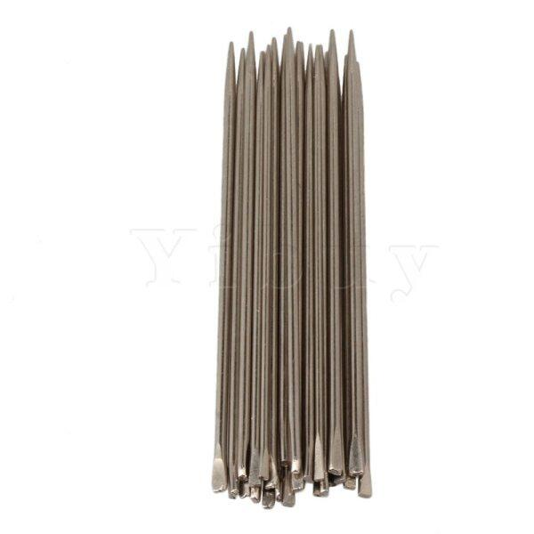 26 Pieces Silver Tenor Saxophone Spring Needle 0.8-1.2mm Flat Handle Malaysia