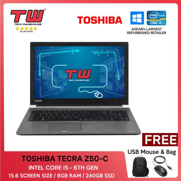 TOSHIBA TECRA Z50-C / INTEL CORE I5 6TH GEN / 15.6 / 8GBRAM / 240GB SSD Malaysia