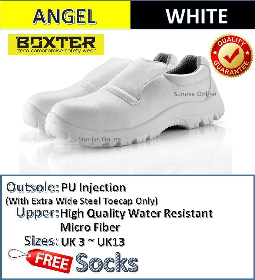 BOXTER LOW CUT SLIP ON SAFETY SHOES - BL-72 ANGEL