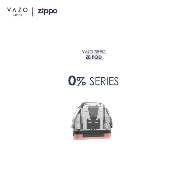 VAZO ZIPPO - ZE POD - 0% Series Malaysia
