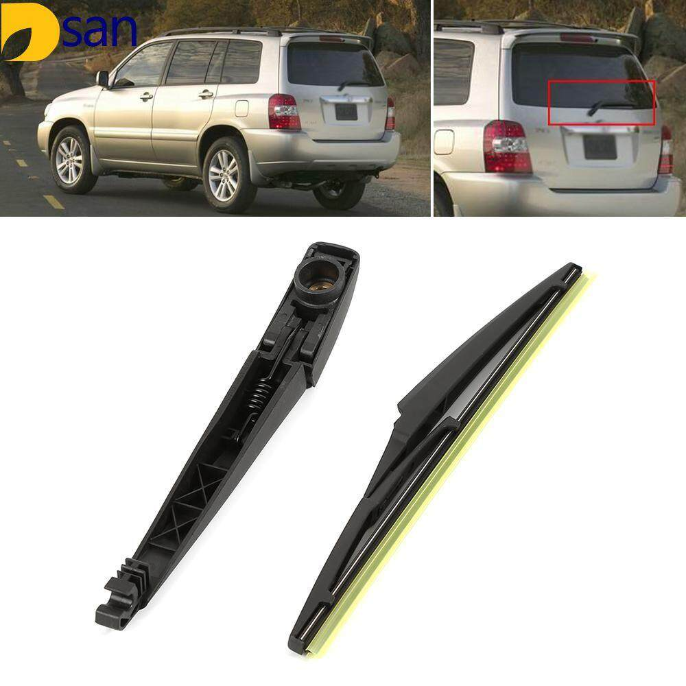 Black Rear Window Wiper Arm 305mm Blade Set Fit for 2008-2015 Buick Enclave
