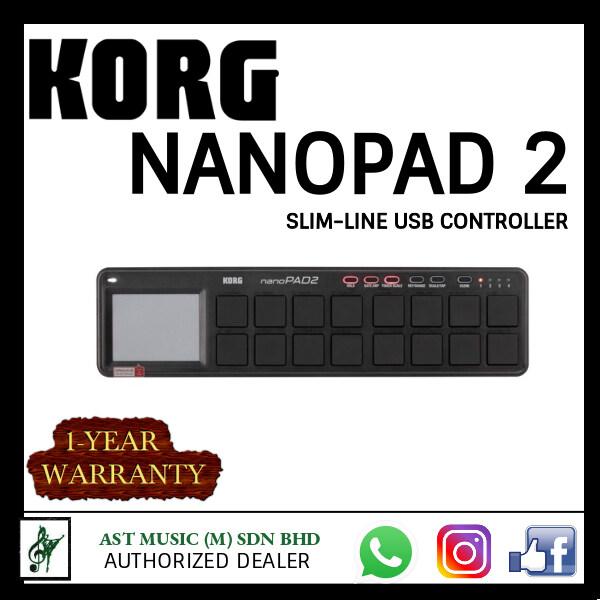 Korg nanoPAD2 Slim-Line Pad Controller Malaysia