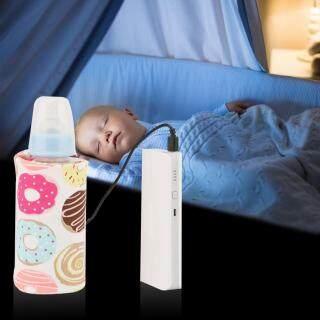 Máy hâm sữa cho bé kèm nắp giữ nhiệt bằng kích thước 28 13 1cm, dễ dàng mang theo và tiện dụng - INTL thumbnail