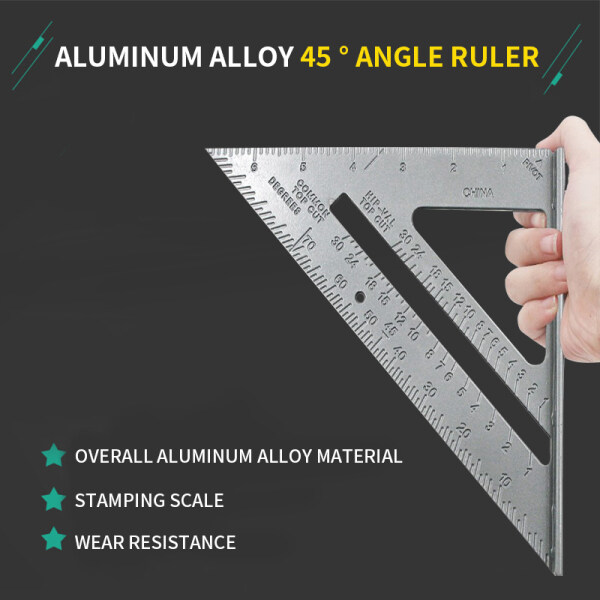 7  Triangle Ruler Carpenter Square Speed Square Layout Tool