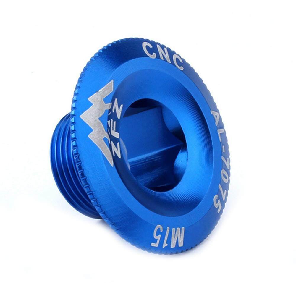 Dental Plate Cover Crank Screw Cap Aluminum M18 MTB Crankset Crank Cover