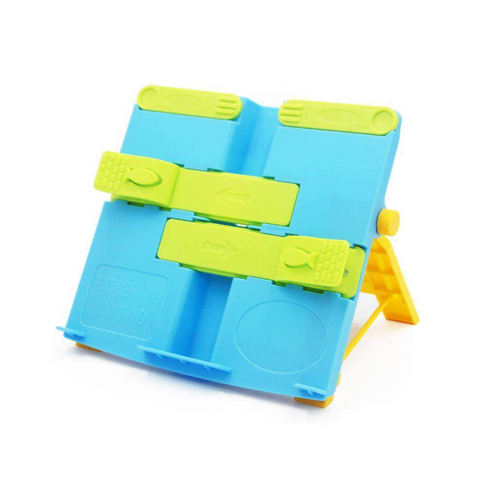 Buyinbulk Portable Reading Book Stand Folding Bookend Adjustable Versatile Anti-Myopia Reading Holder For Kids By Buyinbulk.