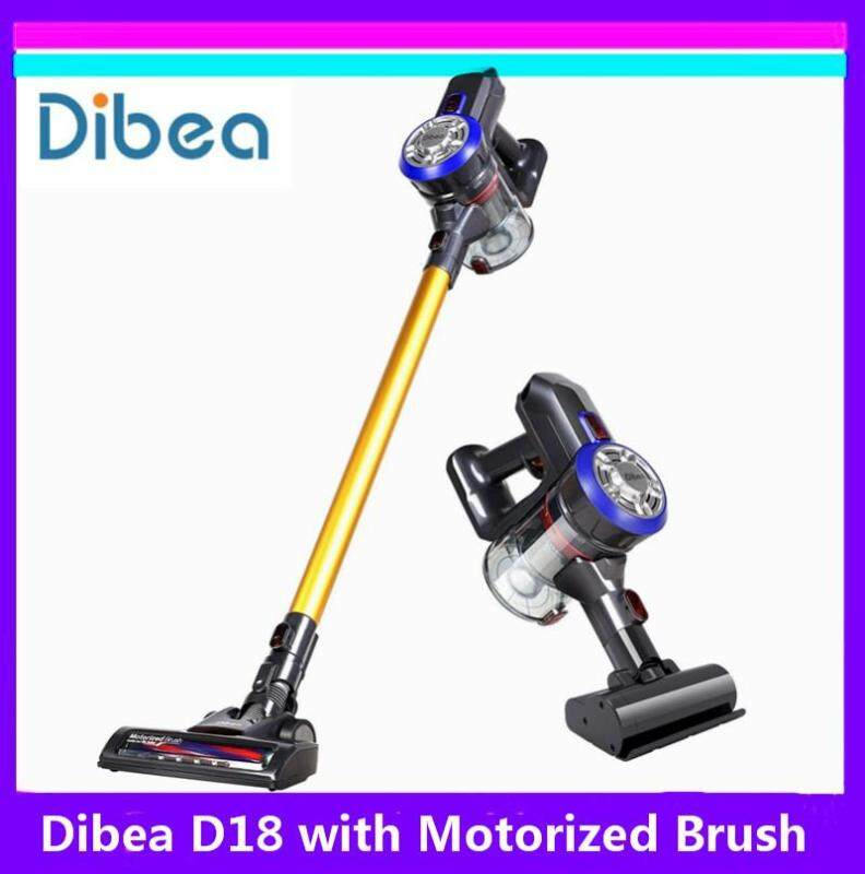 Original Dibea D18 Lightweight Cordless Handheld Stick Vacuum Cleaner with Motorized Brush Singapore