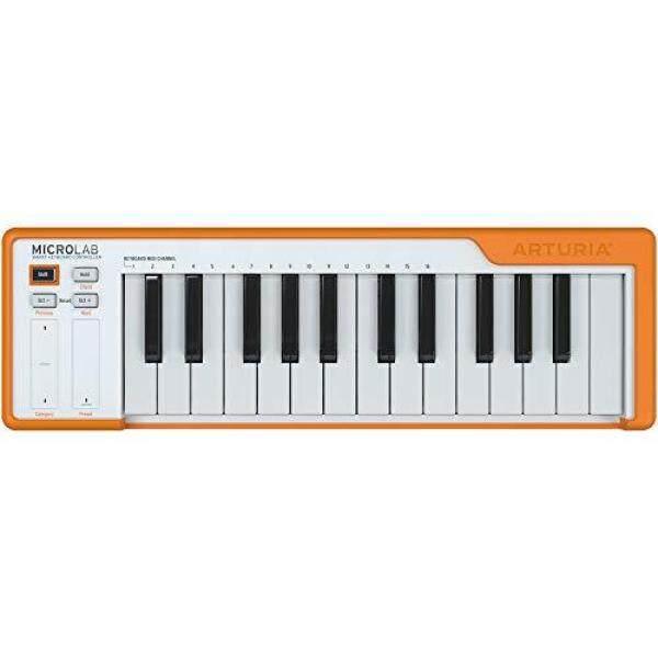 ARTURIA Portable MIDI Controller MICROLAB OR Orange Malaysia