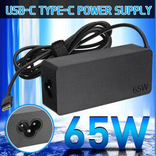Sạc Máy Tính Xách Tay USB-C Type-C 65W, Bộ Đổi Nguồn Ac Cho Lenovo 01fr024 thumbnail