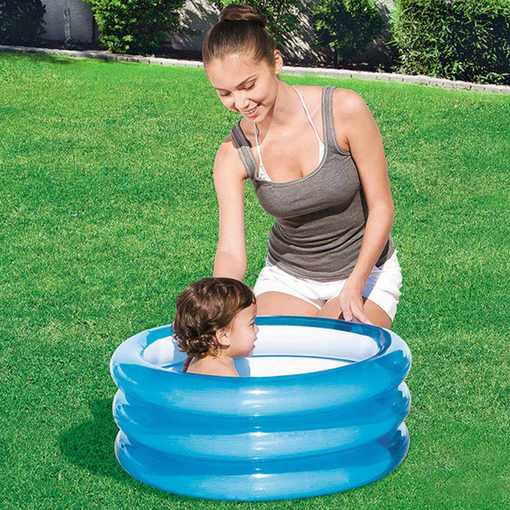 Baby Inflatable Swimming Pool Kids Toy Round Paddling Pool Ocean Ball Pools