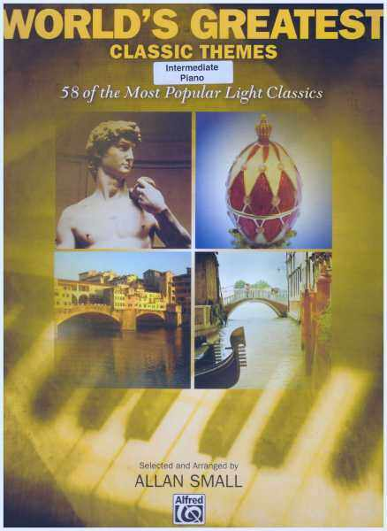 Worlds Greatest Classic Themes / Intermediate Piano / Piano Book / Music Book Malaysia