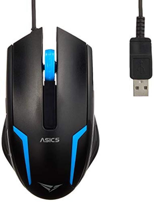 Domestic Alcatroz USB mouse USB Mouse Asic 5 Blue Singapore