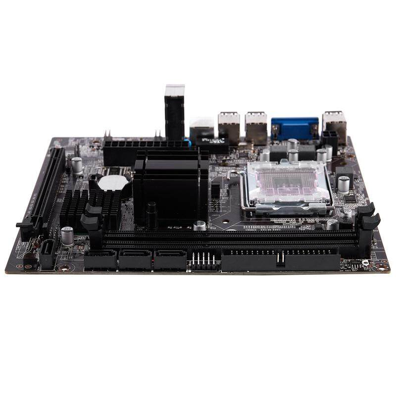 G41 771/775 Pin Practical Desktop Computer Mainboard Support for Xeon 771 Pin/Core 775 Pin CPU with SATA 2 USB 2.0 DDR3 1333 Dual Channel Motherboard for Intel