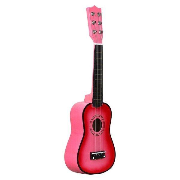 Đàn Ghi Ta Acoustic Basswood 21 Inch Guitar Mini 6 Dây Với Cây Đàn Guitar Với Pick Dây Cho Trẻ Em Quà Tặng Người Mới Bắt Đầu