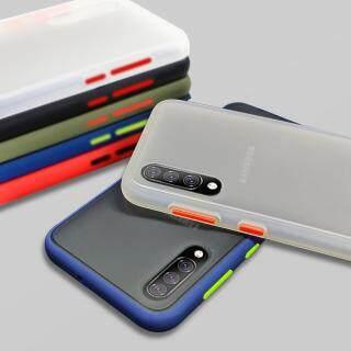Ốp bọc thép cứng lai chống sốc cho Samsung Galaxy M20 M30 M10 A10S A20S A50 A70 Vỏ ốp trong mờ cho Samsung Note 10 S10 S9 S8 Plus Ốp thumbnail