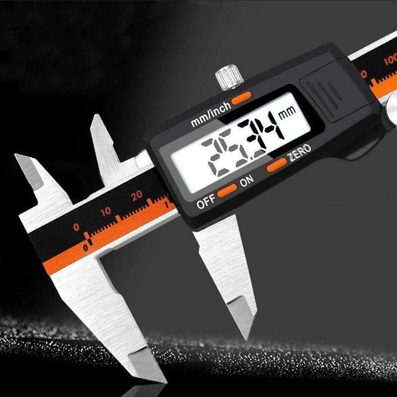 Stainless Steel Caliper 0 - 150 mm Large LCD Display Household