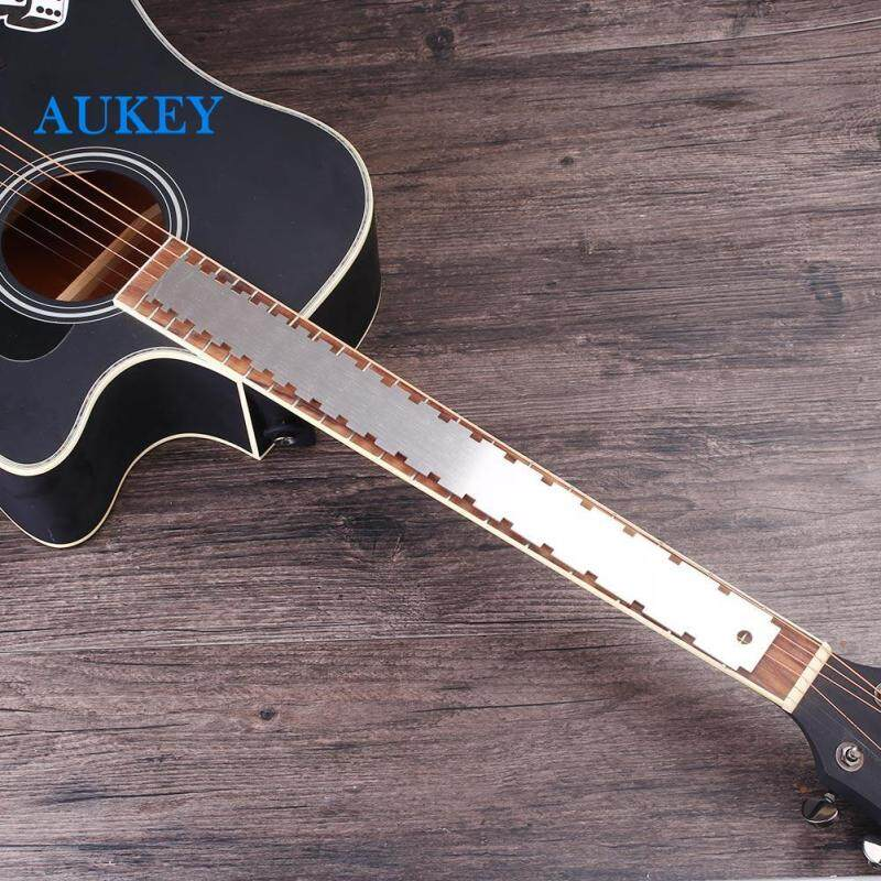 Premium Guitar Neck Notched Measuring Tool Fret Board Fingerboard Straight Edge