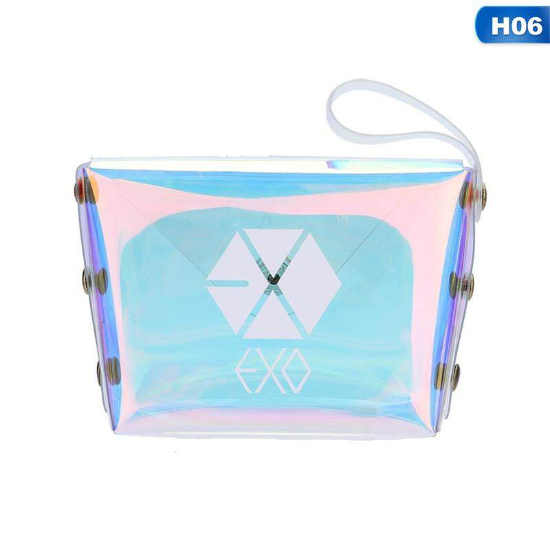 Candy Kpop Bts Exo Got7 Seventeen Twice Wannaone Laser Transparent Coin Purse By Mycsndice.