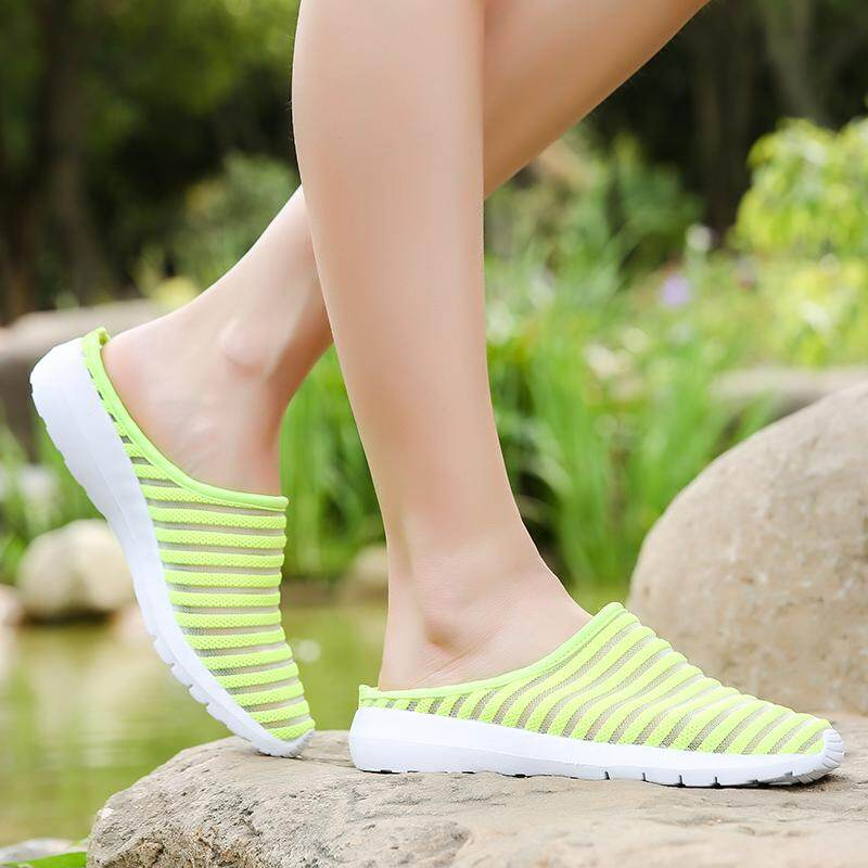 Breathable Mesh Upper Shoes Driving Loafers Slip On Flat&slipper Shoes For Women Bgy003 By V-Shipping.
