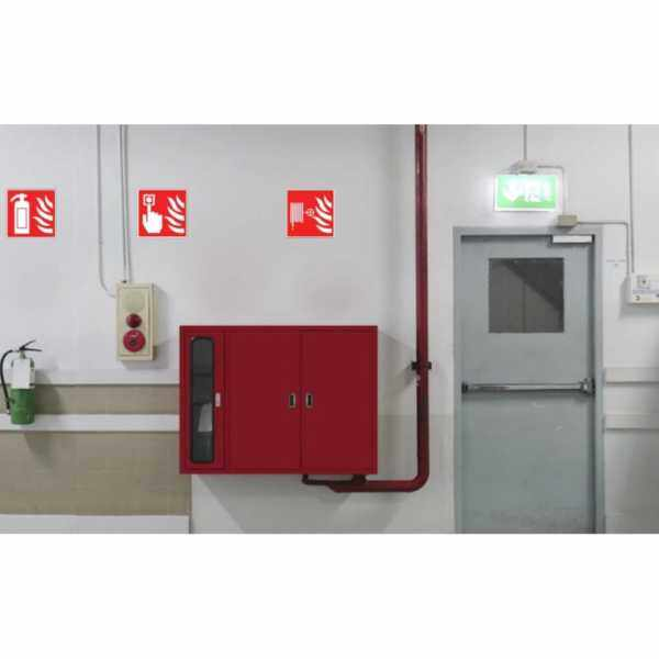 PROGUARD| FIRE FIGHTING EQUIPMENT SAFETY SIGN PVC PLASTIC STICKER LABEL INDOOR OUTDOOR BUILDING SIGNS