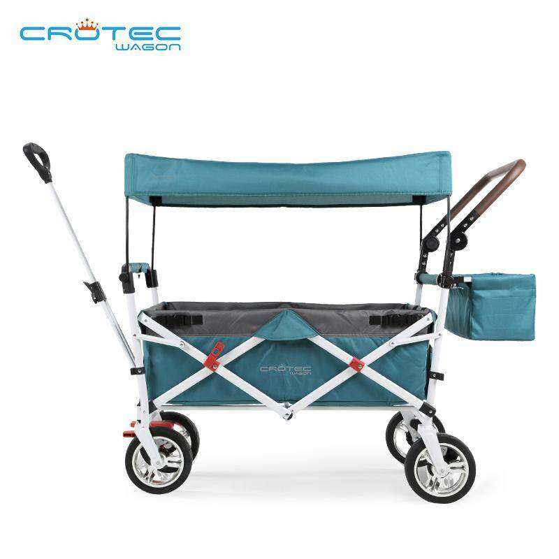 Crotec Wagon 3 In 1 Twin Trolley Multiple Outdoor Stroller Picnic Shopping Cart Multi Travel Trailer Trike Singapore