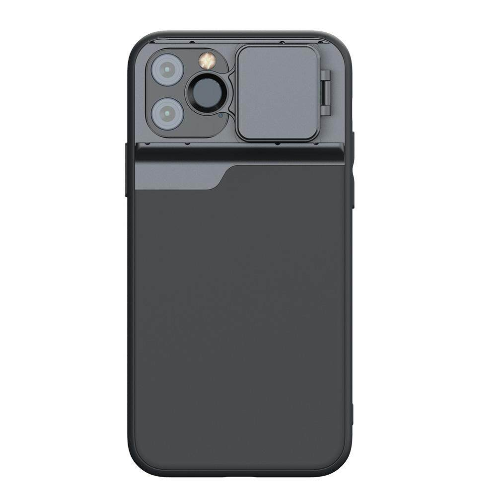 Untuk Apple iPhone 11/11 Pro/11 Pro Max 6 In 1 Lensa Besar Fisheye Tele Sudut Lebar CPL Ponsel Shell Lensa Telepon case Lensa