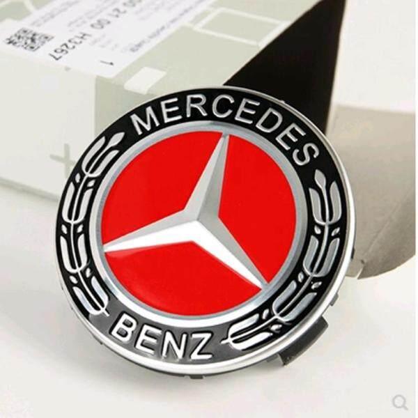4 Cái Logo Xe Hơi 75Mm, Phụ Kiện Phong Cách Xe Hơi Miếng Dán Huy Hiệu Biểu Tượng Nắp Trục Bánh Xe Tấm Che Trung Tâm Cho Mercedes Benz W211 W203 W204 W210 W124 W205 W202 Cla W212 W220