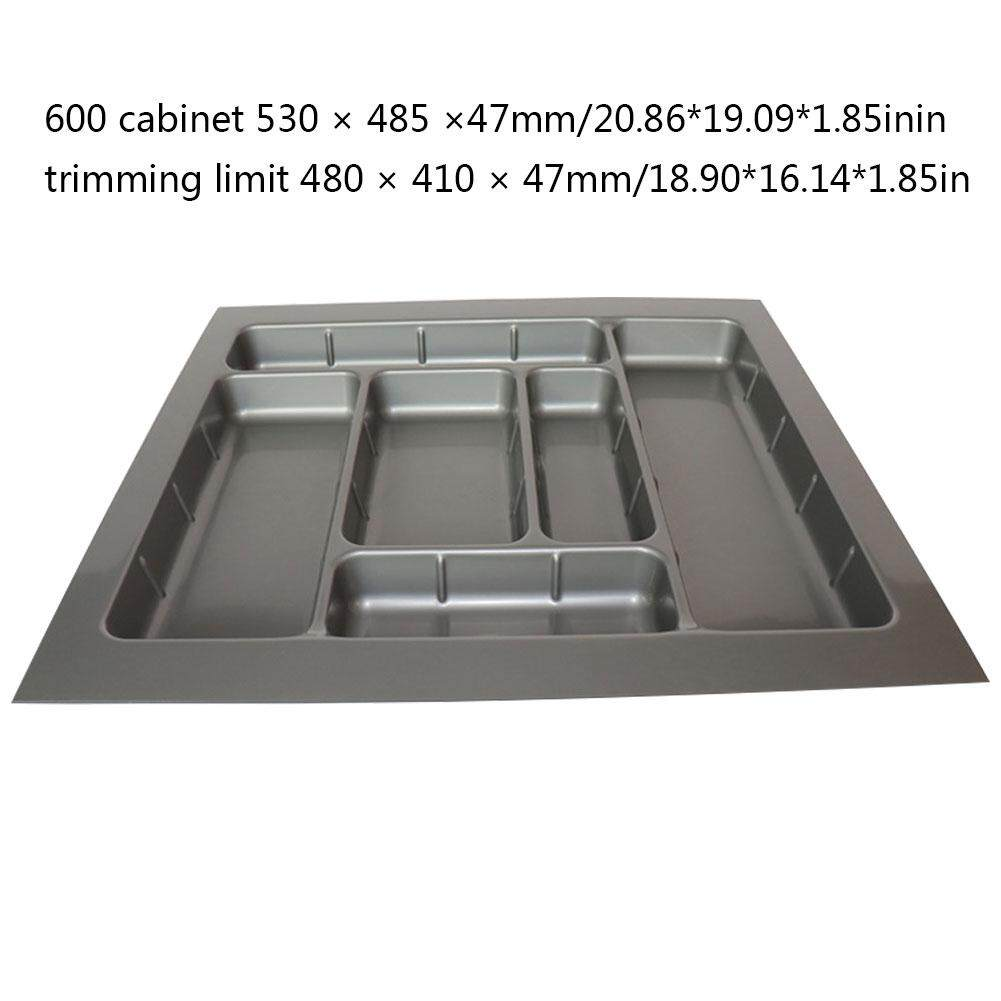ABS Drawer Cutlery Tray Kitchen Cabinet Chopsticks Cutlery Storage Box Plastic Drawer Compartment Divider Tray