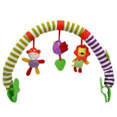 Bed Clip Hanging Bell Baby Stroller Pendant Bed Clip Safety Seat Clip Car Hanging