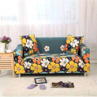 1 2 3 4 Seater Sarung Sofa Cover Universal L-Shape Slipcover Home Room Decoration-