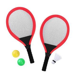 Bộ Vợt Tennis Trẻ Em Với Đá Cầu Trò Chơi Thể Thao Cầu Lông Cho Trẻ Em Kèm 2 Bóng Thể Thao Ngoài Trời thumbnail