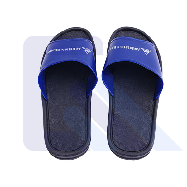 ESD PVC slipper antistatic blue safety slipper antiskid ESD slipper