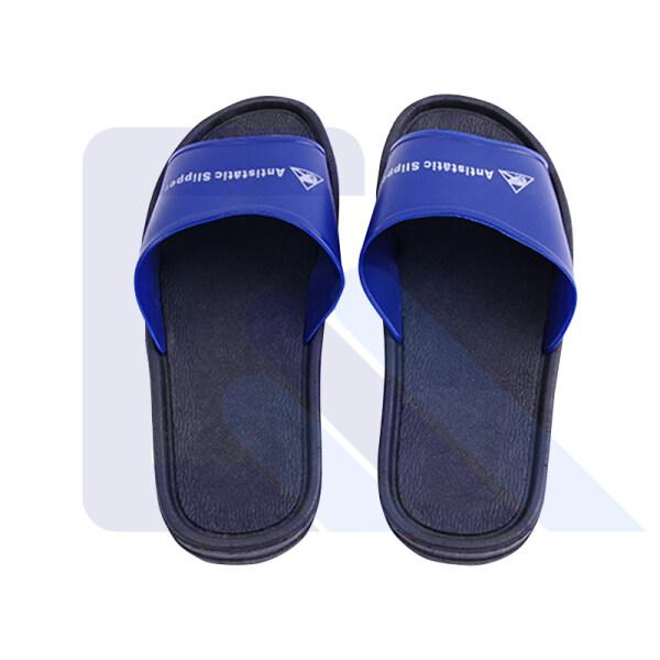 ESD PVC slipper antistatic blue safety slipper antiskid ESD slipper