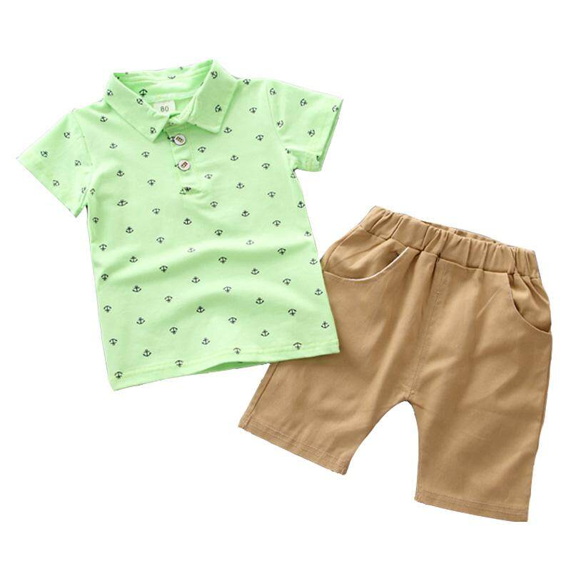New Toddler Kids Baby Boy Clothes Boys Outfits Sets Short T-Shirt Pants Tops