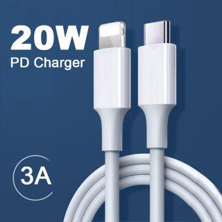 Cáp PD USB C 20W Nhanh Chóng Sạc Cáp Sạc Nhanh Cho iPhone 12 Pro Max 11 Xs Max Xr X 8 7 6S Plus Cho iPad Dữ Liệu Sạc Dây thumbnail