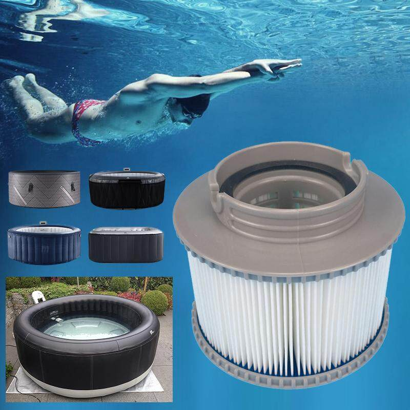 Qooiu 86mm Professional Inflatable Swimming Pool Filter Easy Installation Efficient Strainer For Tube Pool Cleaning for MSPA