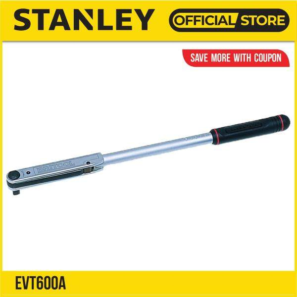 Stanley EVT600A Square Drive Torque Wrench 1/2 12-68Nm