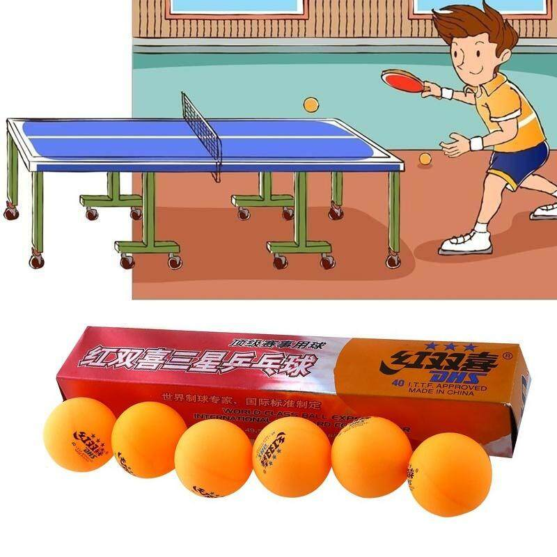 MandyMick 6Pcs/Box 3 Stars Professional DHS 2.8G Table Tennis Balls Sports Accessories