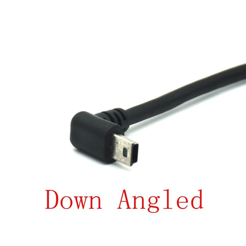Giảm Giá Chính Hãng Bán Chạy Lên Xuống Trái Phải Góc Cạnh Cáp Chuyển Đổi Nối Dài Đầu Đực Sang Cái Loại Gắn Bảng 90 Độ USB 5 Chân Mini Với Các Ốc Vít, 30Cm 1ft